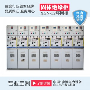 全封閉XGN-12智能型固體絕緣開關柜-- 申恒電力設備有限公司