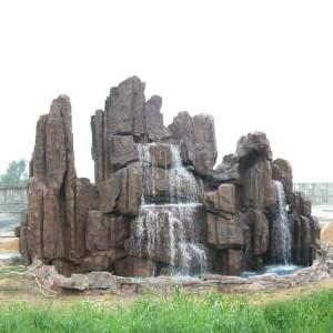 现代园林假山 园林景区假山创作-- 河南省天目装饰材料有限公司