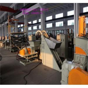 比亚迪公司EVA汽车内饰件隔音片材挤出机玖德隆机械供应-- 振德隆开炼机(昆山)有限公司