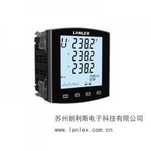 大屏LCD超清晰顯示網絡電力儀表LS830E-9YH3/R型-- 蘇州朗利斯電子科技有限公司