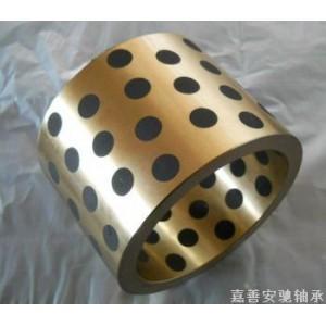 固体镶嵌轴承/自润滑轴承套/自润滑铜