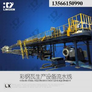供应领新聚氨酯pu彩涂板生产线-- 浙江领新机械科技股份有限公司