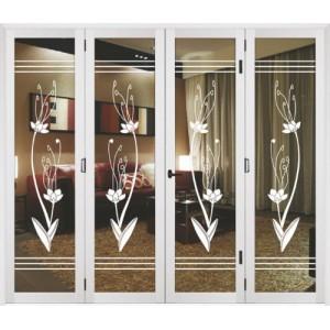 优质铝合金重型大折叠门 广东建材装饰行业信赖品牌-- 深圳万嘉鸿福门窗有限公司