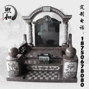 供應花崗巖墓碑石雕 福建廠家直銷 人工雕刻 精美墓碑歡迎定制-- 富士熙和石業