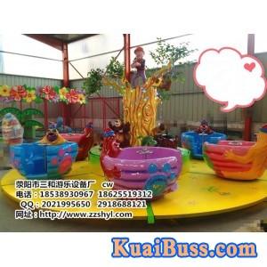 熊出没转转杯丨儿童游乐设备丨好玩不贵经济实惠丨三和游乐制造-- 荥阳市星河游乐设备厂