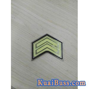 供应南宁地铁出口楼梯踏步侧立面荧光夜光嵌入式不锈钢标志牌-- 杭州慧海化工有限公司