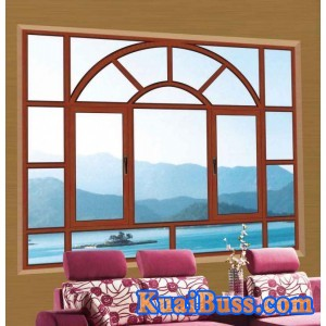 別墅洋房復合窗 鋁合金組合窗 建材裝飾鋁合金窗-- 深圳萬嘉鴻福門窗有限公司
