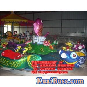 鲤鱼跳龙门丨儿童游乐设备丨轨道型游乐设备丨游乐必备-- 荥阳市星河游乐设备厂