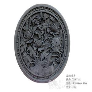 砖雕饰纹题材广泛 寓意吉祥 具有时代气息的内外墙装饰挂板-- 河南省天目装饰材料有限公司