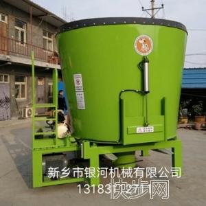 新款立式TMR饲料搅拌机-- 新乡市银河机械电器有限公司