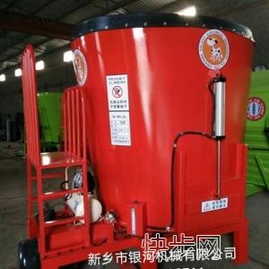 银河新款立式5立方TMR饲料搅拌机-- 新乡市银河机械电器有限公司