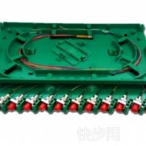 光交箱托盘 圆头12芯光纤熔纤盘 Fc12芯一体化托盘-- 慈溪市科成通信科技有限公司