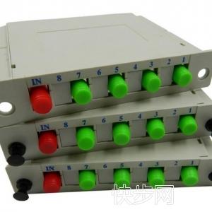 厂家直销FC APC 1分4PLC插片式光纤分路器-- 慈溪市科成通信科技有限公司