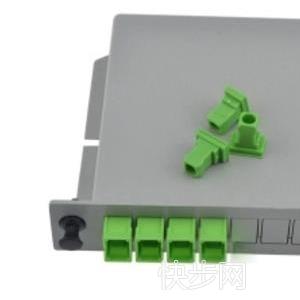 插片式光分路器 14SC APC 光分光纤分光器广电级-- 慈溪市科成通信科技有限公司