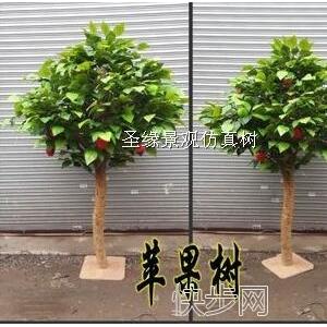 庆缘景观仿真苹果树正品仿真苹果树价格-- 广州市庆缘景观园林设计有限公司