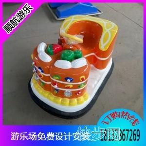 儿童游乐设备蛋糕碰碰车,现货供应小型蛋糕碰碰车-- 郑州市顺航游乐设备有限公司