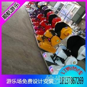广场火爆儿童游乐机器人,机器人赚钱吗???-- 郑州市顺航游乐设备有限公司