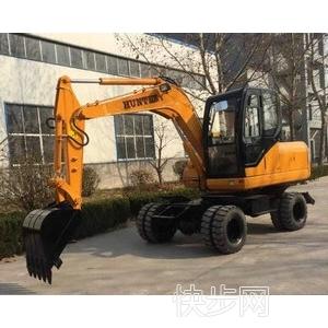 供应恒特HTL60-9轮式挖掘机厂家直销-- 禹城市张力工程机械销售服务中心