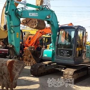 二手神钢75-8现货挖机低价转让-- 昆山掘翔工程机械有限公司