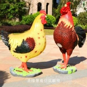 高仿真公鸡品质保障仿真公鸡最低价-- 广州市庆缘景观园林设计有限公司