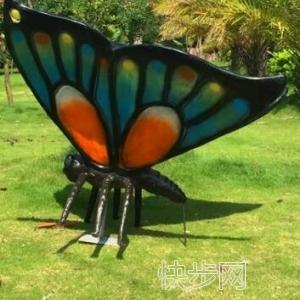 客厅仿真蝴蝶购买哪里便宜仿真蝴蝶新品专享-- 广州市庆缘景观园林设计有限公司