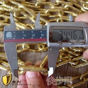 兴杰生产纯铜狗脖链O型链仿古青铜色链条-- 辛集市兴杰防爆工具有限公司