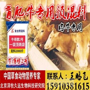 肉牛專用飼料-- 北京擇木久遠生物科技研究院