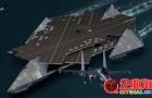 中国欲建50万吨级浮岛式航母