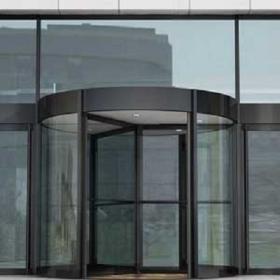 无锡 旋转门宽敞又格调高 堪称建筑物