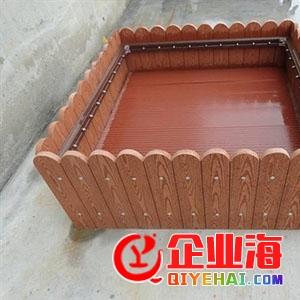 园林景观防腐花箱,公园防水花箱,郑州防腐木花箱厂家