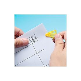 彩色书签 塑料简约书签 广州厂家